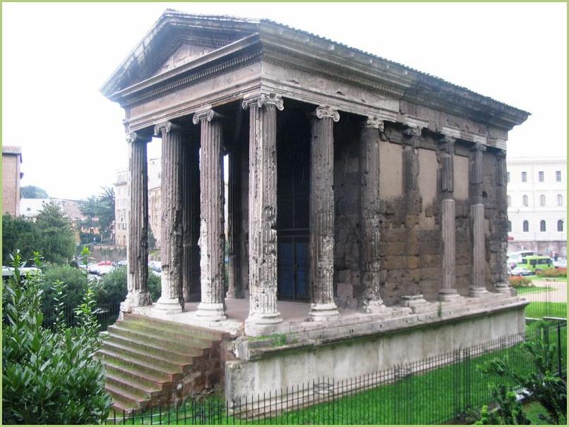 Le marbre blanc - Rome Temple de Portunus