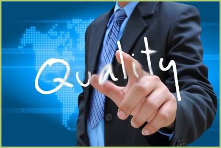 Les produits - L'accélérateur d'affaires - La qualité