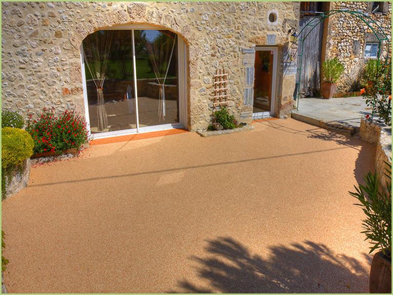 Terrasse provençale en France