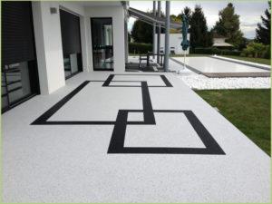 Revêtement terrasse piscine (Lubéron)