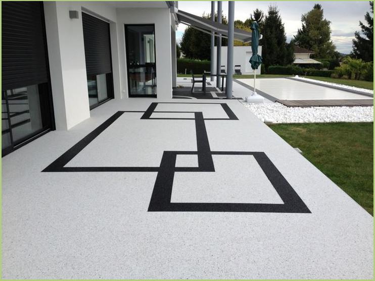 Des couleurs - Revêtement terrasse piscine (Lubéron)