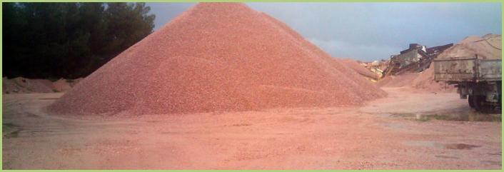 Les granulats de marbre italiens - Granulats de marbre rouge (les plus recherchés)