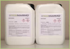 Les produits granulat de marbre - RESIPRIMER résine d'accrochage