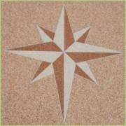 Motif Rose des sables
