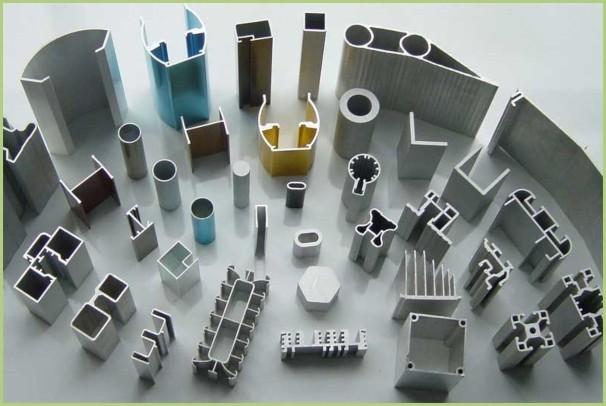 Les profilés en aluminium - Profilés