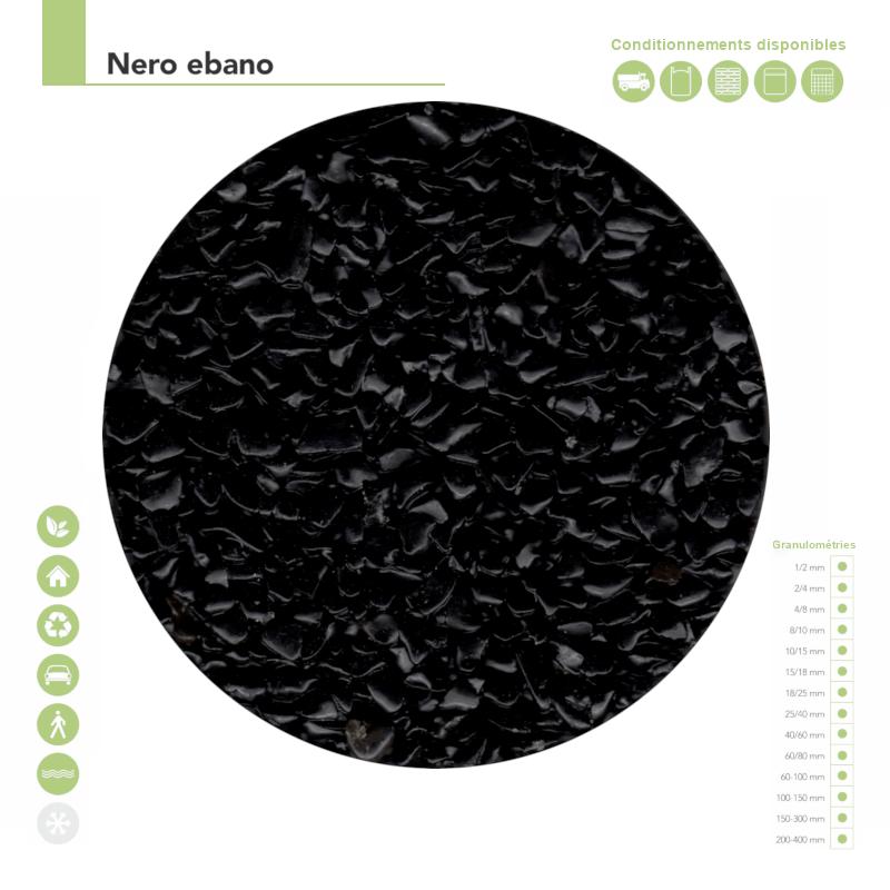 les couleurs - Couleur nero ebano