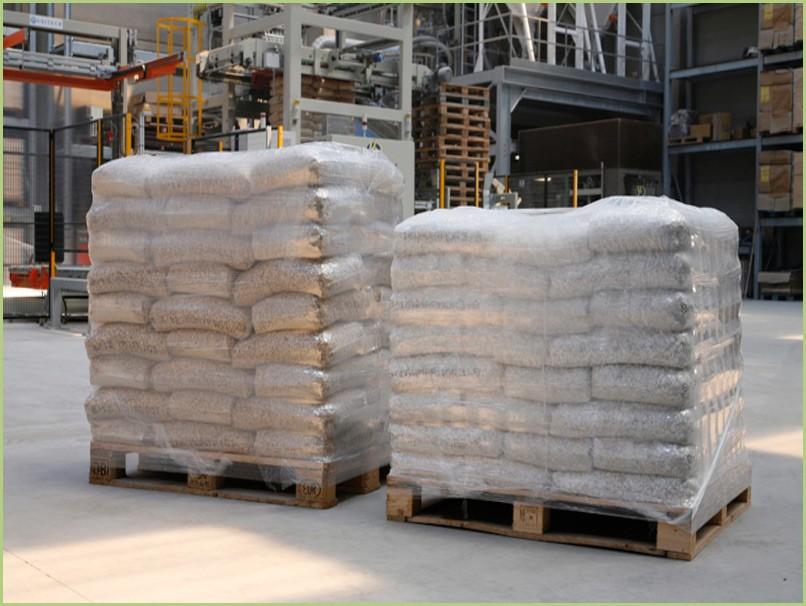 Le granulat pour professionnels – Palettes de 40 ou 50 sacs