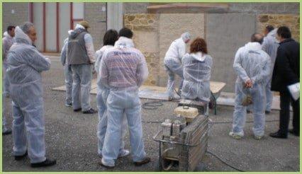 Comment se former à la pose du granulat de marbre - Formation pratique
